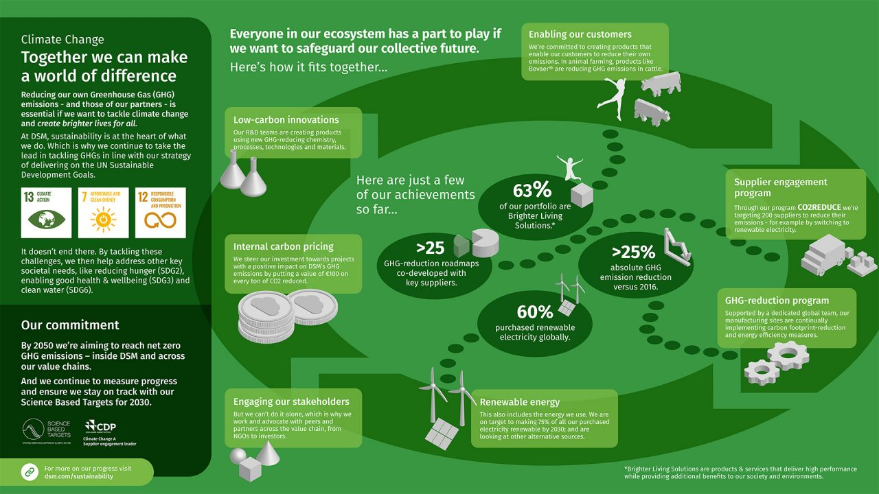Infographic: Eliminating our carbon footprint - together
