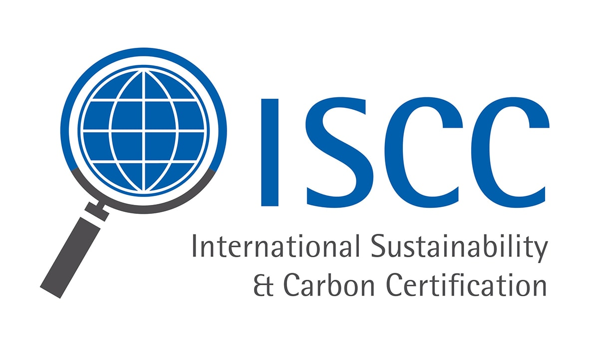 ISCC Logo for Bio-Based Dyneema Fiber