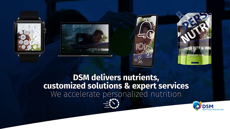 We accelerate personalized nutrition
