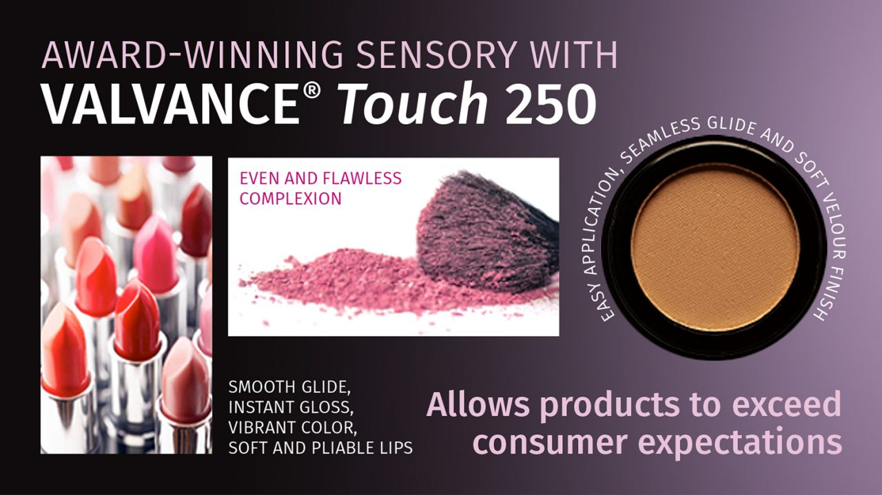 The sensory and visual modifier cosmetic ingredient for the color boost in make-up applications.